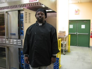 Culinary Student Reggie Taylor