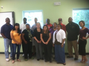 TCS in Milford first day